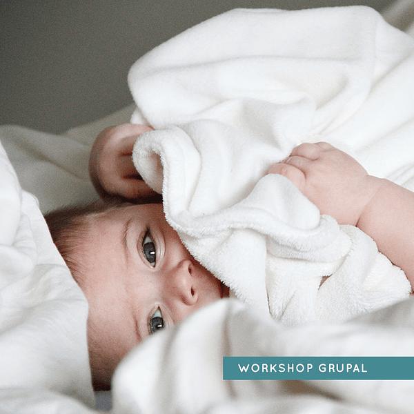 Workshop Grupal Online - Bebés sobre los 3 meses hasta los 3 años