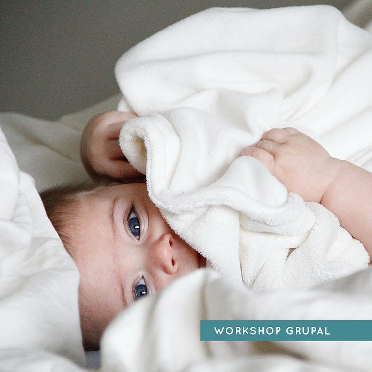 Workshop Grupal Online - Bebés sobre los 4 meses hasta los 3 años