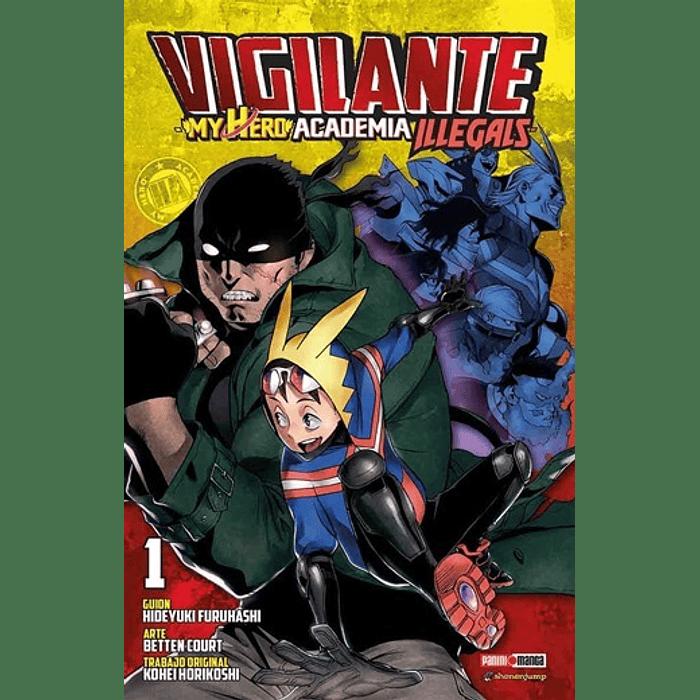 VIGILANTE - MY HERO ACADEMIA ILLEGALS 01