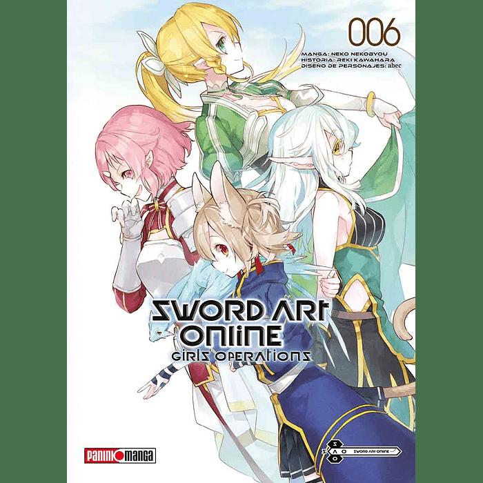 SWORD ART ONLINE - GIRL'S OPERATIONS 06