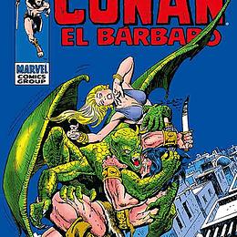 CONAN EL BARBARO - LOS CLASICOS DE MARVEL 05 (HC)