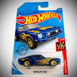 HOT WHEELS - '68 SHELBY GT500 (BLUE)
