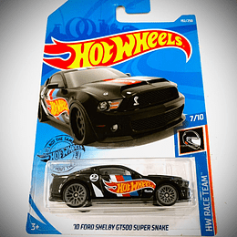 HOT WHEELS - '10 FORD SHELBY GT500 SUPER SNAKE