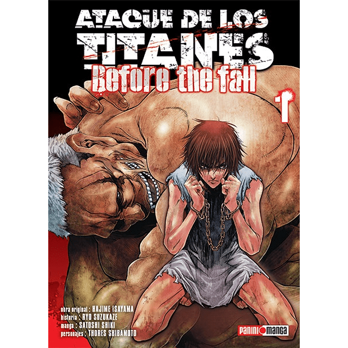 ATAQUE DE LOS TITANES - BEFORE THE FALL 01