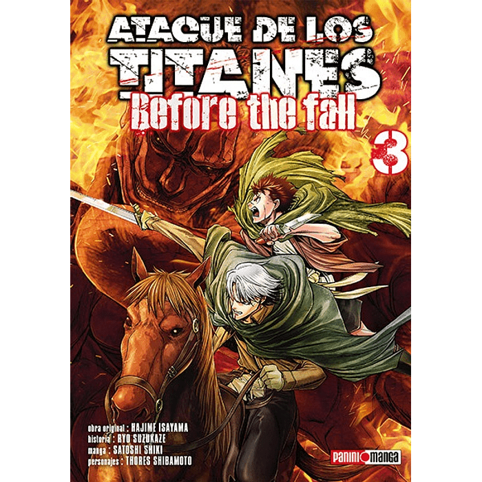 ATAQUE DE LOS TITANES - BEFORE THE FALL 03