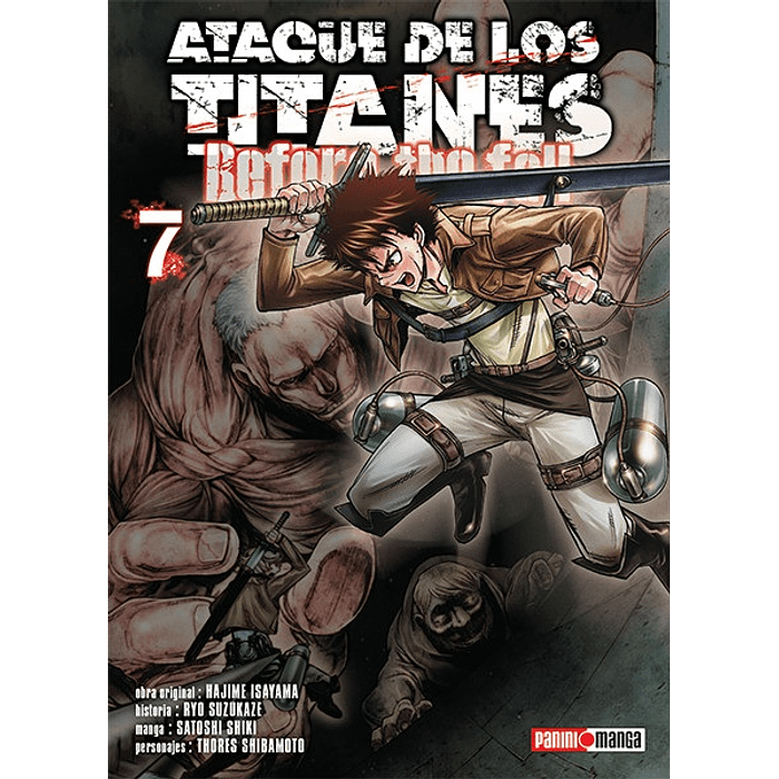 ATAQUE DE LOS TITANES - BEFORE THE FALL 07