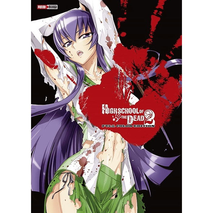 HIGH SCHOOL OF THE DEAD - FULL COLOR 02