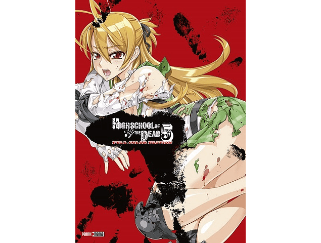 HIGH SCHOOL OF THE DEAD - FULL COLOR 05