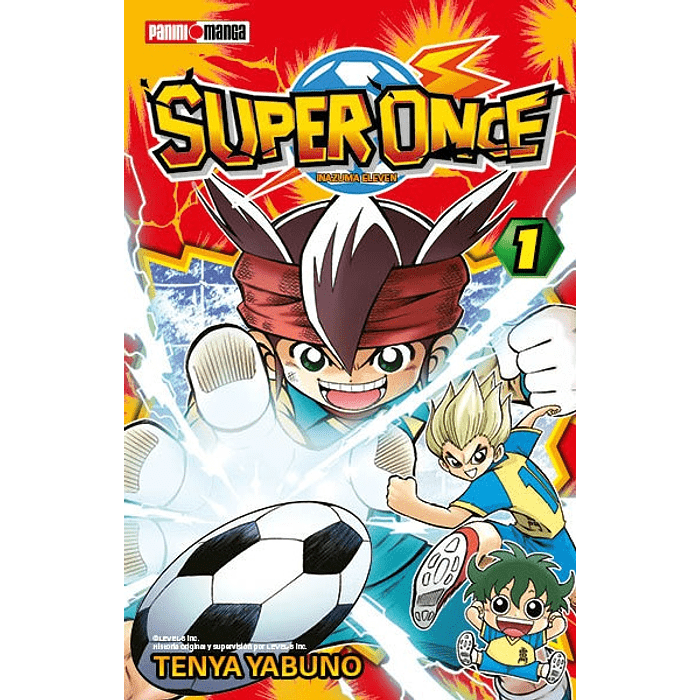 INAZUMA ELEVEN (SUPER ONCE) 01