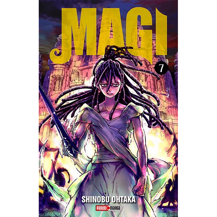 MAGI: THE LABYRINTH OF MAGIC 07