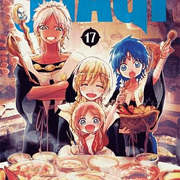 MAGI: THE LABYRINTH OF MAGIC 17