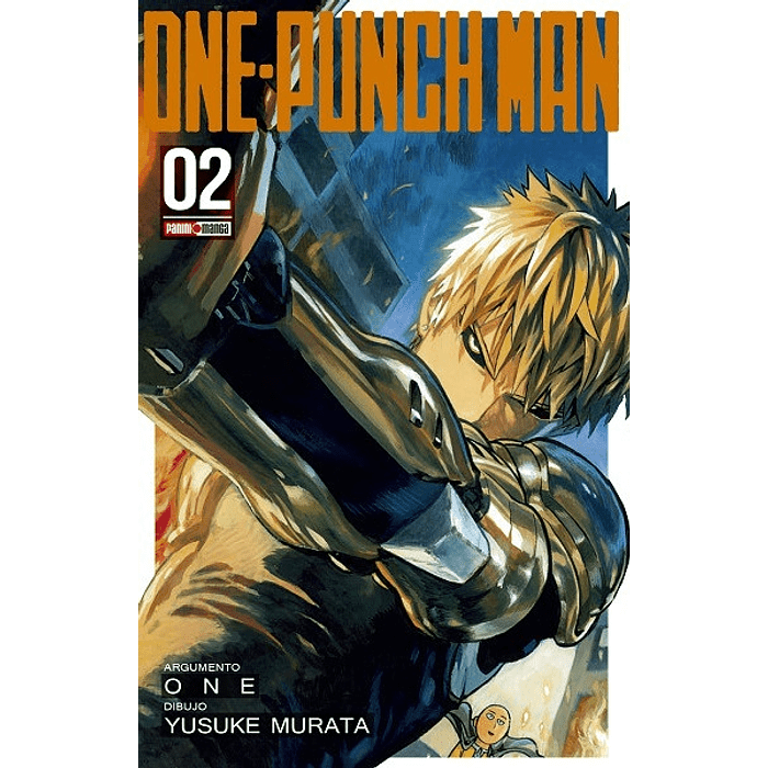 ONE PUNCH MAN 02