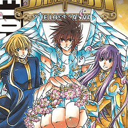 SAINT SEIYA THE LOST CANVAS 25