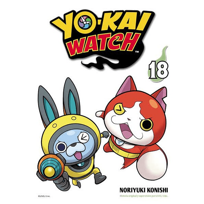 YOKAI WATCH 18