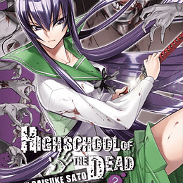 HIGH SCHOOL OF THE DEAD 02