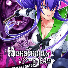 HIGH SCHOOL OF THE DEAD 05
