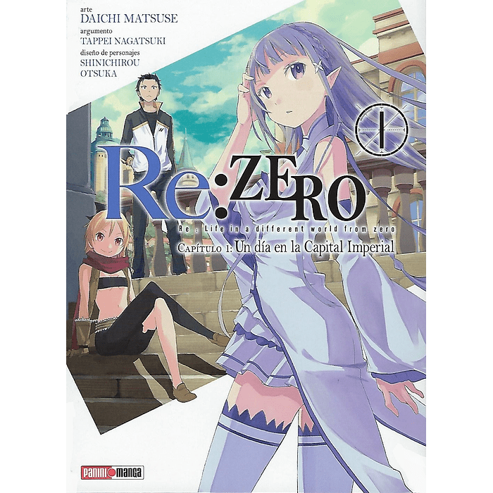 RE: ZERO (CHAPTER ONE) 01