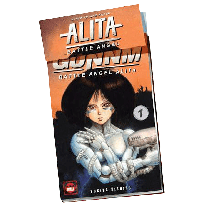 GUNNM (BATTLE ANGEL ALITA) - HYPER FUTURE VISION 01