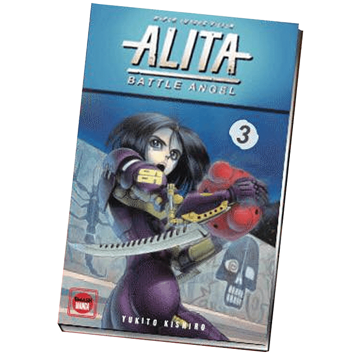 GUNNM (BATTLE ANGEL ALITA) - HYPER FUTURE VISION 03