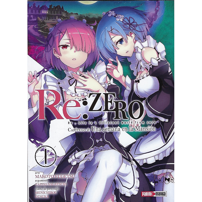 RE: ZERO (CHAPTER TWO) 01