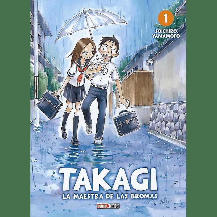 LA MAESTRA DE LAS BROMAS, TAKAGI-SAN 01