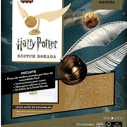 INCREDI-BUILDS HARRY POTTER: GOLDEN SNITCH KIT 3D