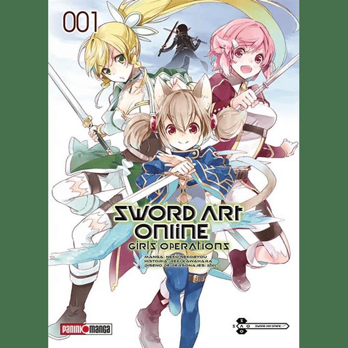 SWORD ART ONLINE - GIRL'S OPERATIONS 01