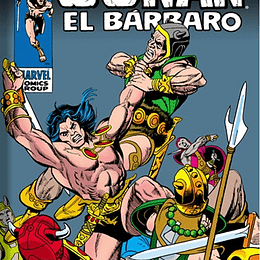 CONAN EL BARBARO - LOS CLASICOS DE MARVEL 02 (HC)