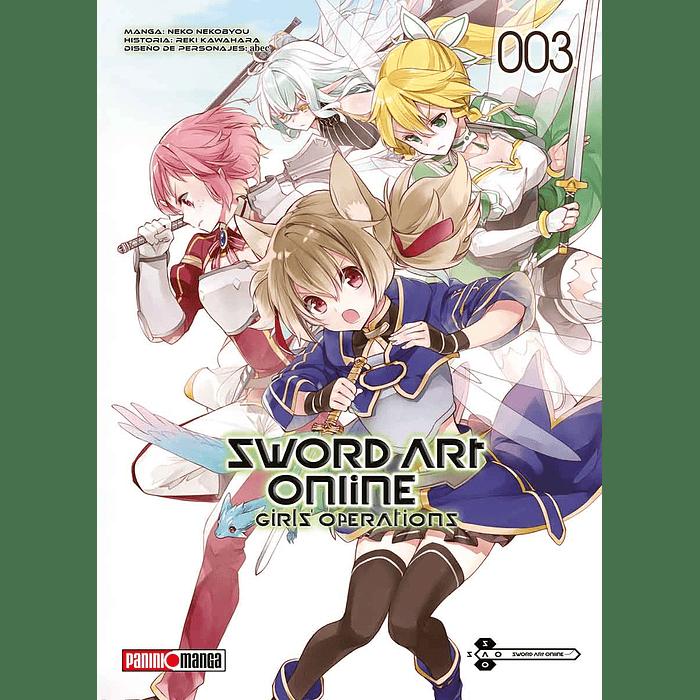 SWORD ART ONLINE - GIRL'S OPERATIONS 03