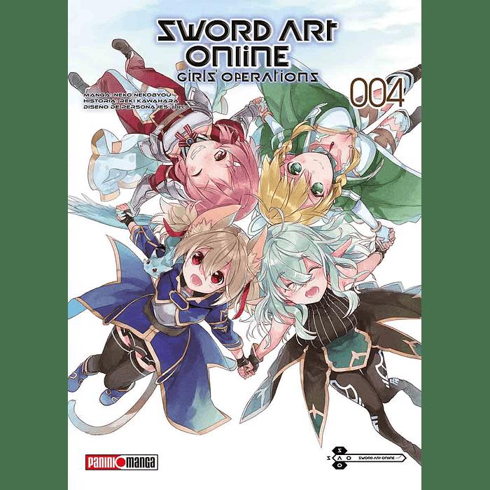 SWORD ART ONLINE - GIRL'S OPERATIONS 04