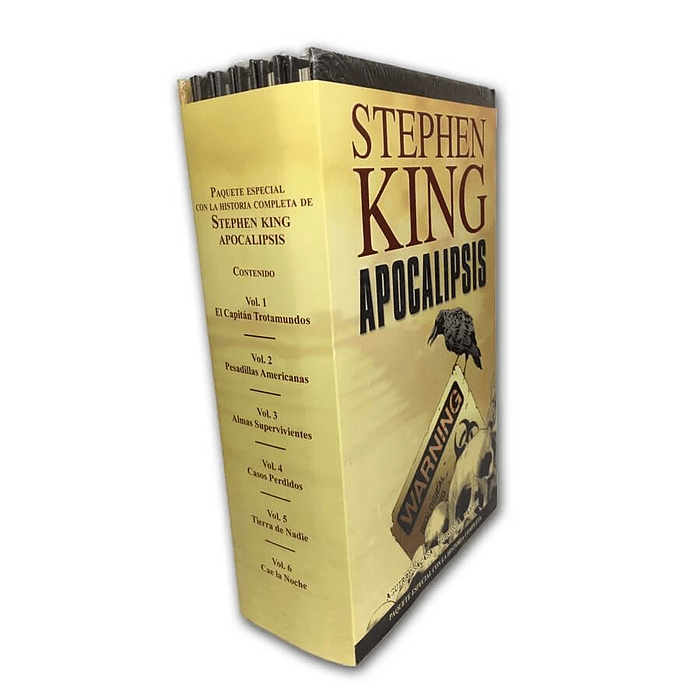STEPHEN KING APOCALIPSIS (BOXSET)