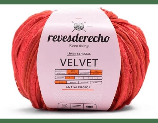 Velvet 50 grs. Rojo N° 04