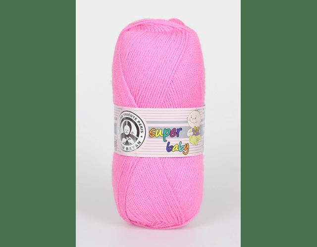 Super Baby Color Rosado N° 42 100 grs