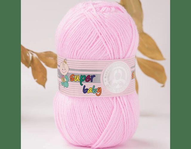 Super Baby Color Rosa Claro N° 093 100 grs