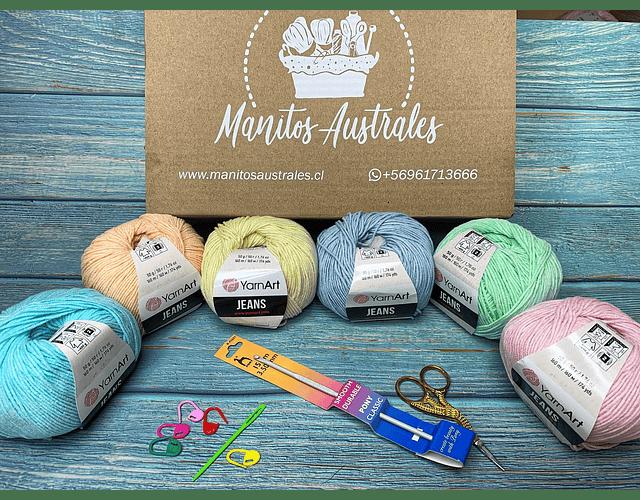 Set crochet principiante