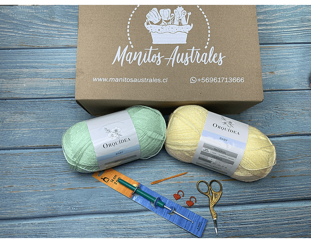 Set crochet bebe Super Soft