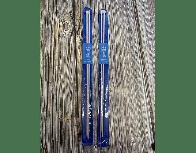 Palillos Aluminio 35 cm de distintos grosores
