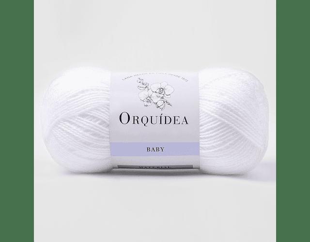 Baby Blanco N° 102 100 grs. Orquidea