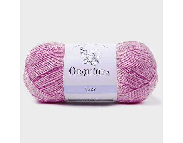 Baby Rosa N° 106  100 grs. Orquidea