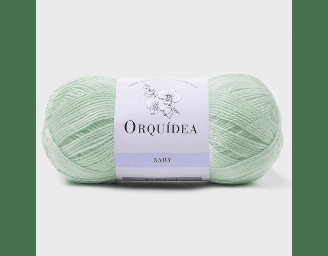 Baby Verde Menta N° 125  100 grs. Orquidea