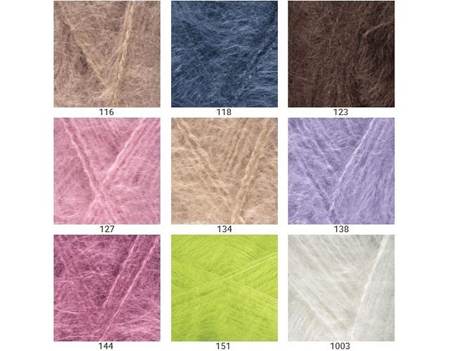 Mohair Classic 100 grs. Color N° 138