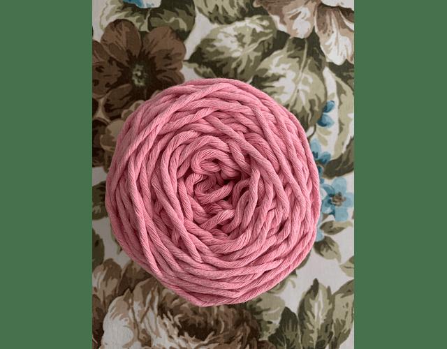 Ovillo Polycotton 3 mm Color Rosado