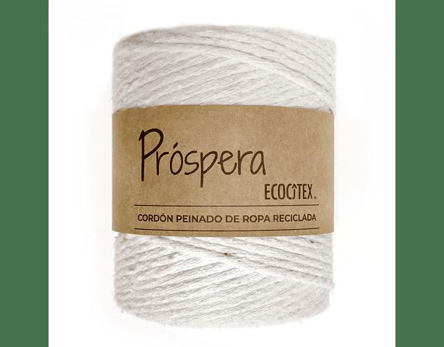 Cordón 5 mm Blanco Próspera de Ecocitex