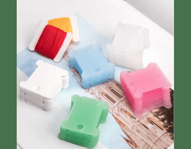 Pack 5 ordenadores de hilos plásticos
