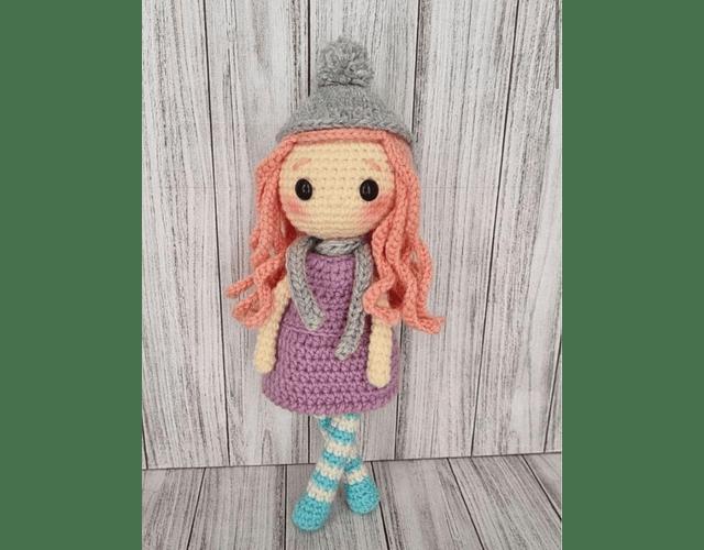 Kit Amigurrumi basico de Lulú Pastel, diseño de made with love crochet