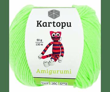 Amigurumi de Kartopu Verde Claro K1437