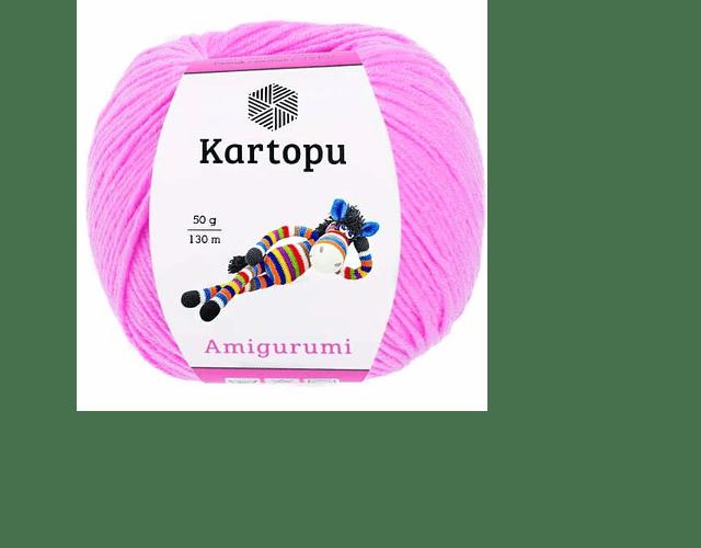 Amigurumi de Kartopu color rosa K787