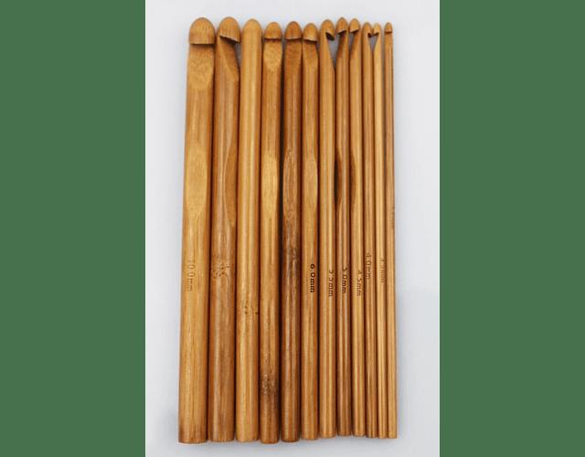 Crochet Bambu de 3 a 6.5 mm