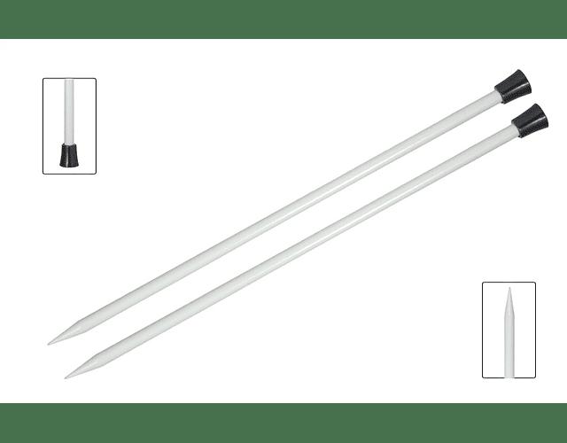 Palillos 35 cm Aluminio Knit Pro