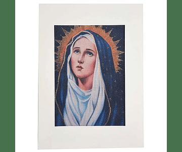 Lienzo Virgen de los Dolores